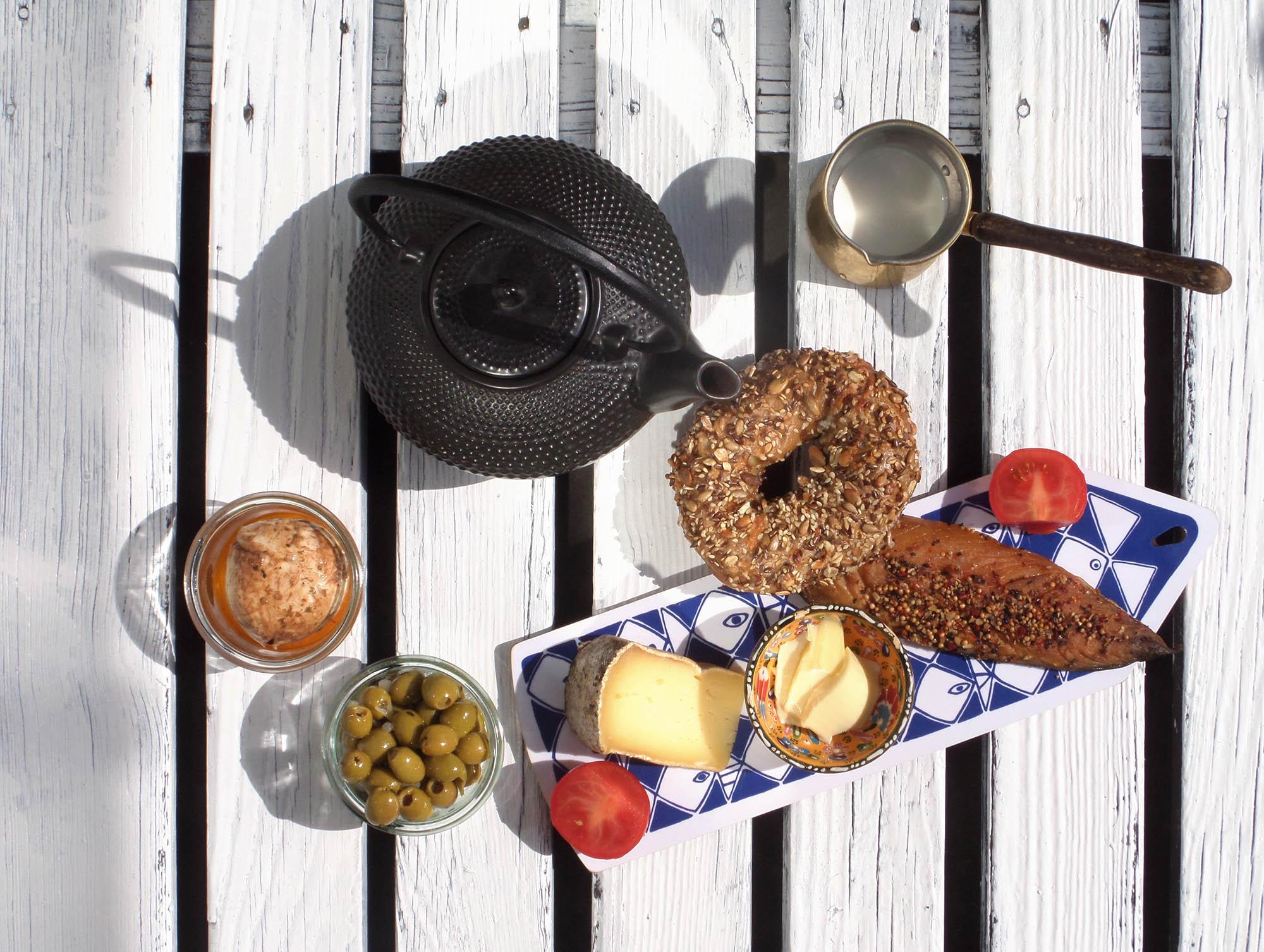 Saturday breakfast on the balcony metterschling 2015