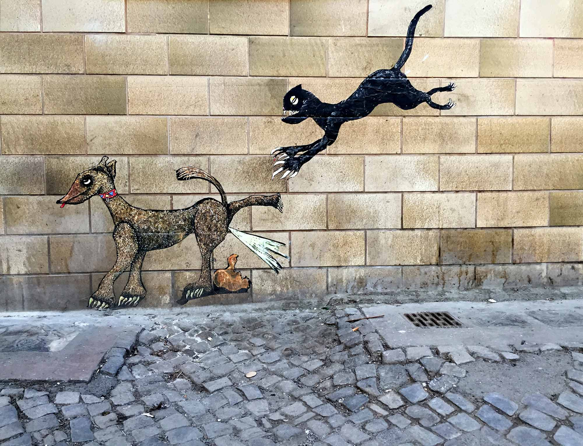 Dogs and cats in Berlin