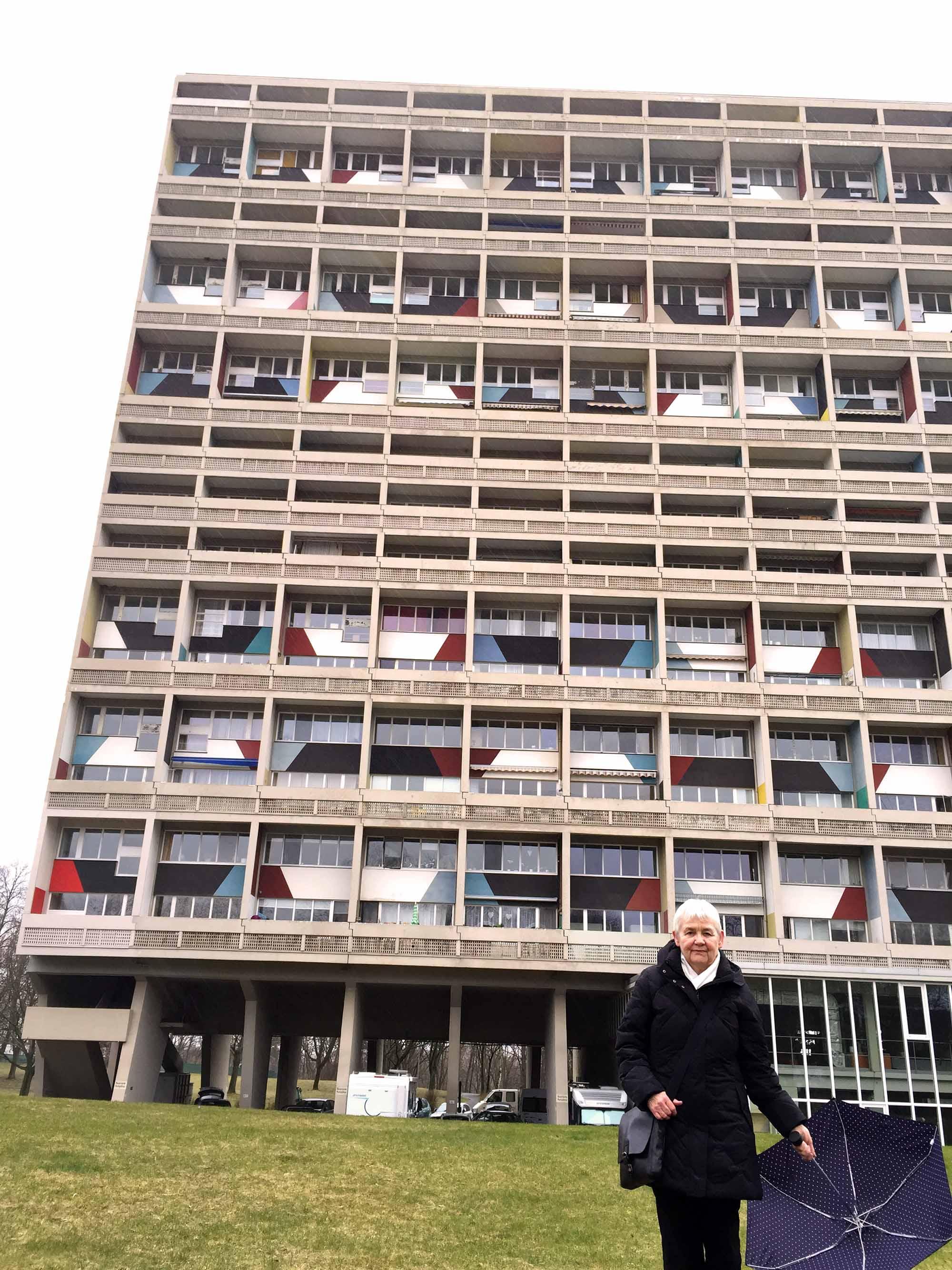 Berlin - Le Corbusier Haus Metterschling 2016